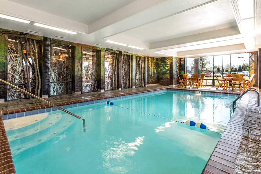 Anglers Lodge - Indoor Pool and Hot tub