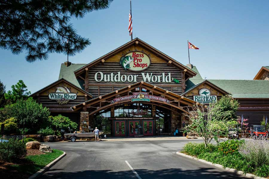 Bass Pro Shops Outdoor World in Springfield Missouri