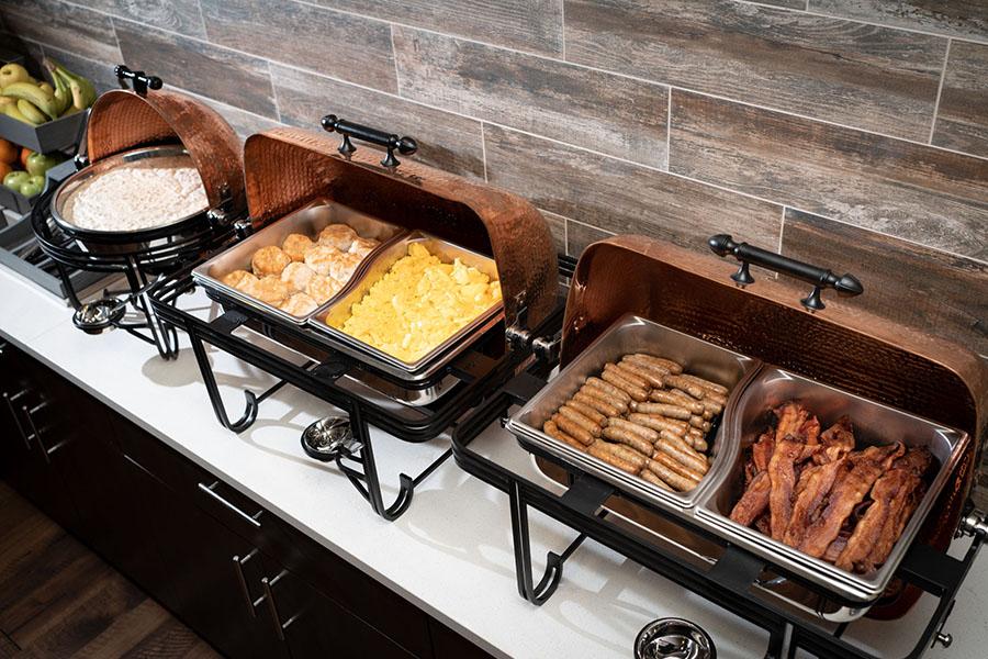 AnglersLodge Breakfast Bar Detail